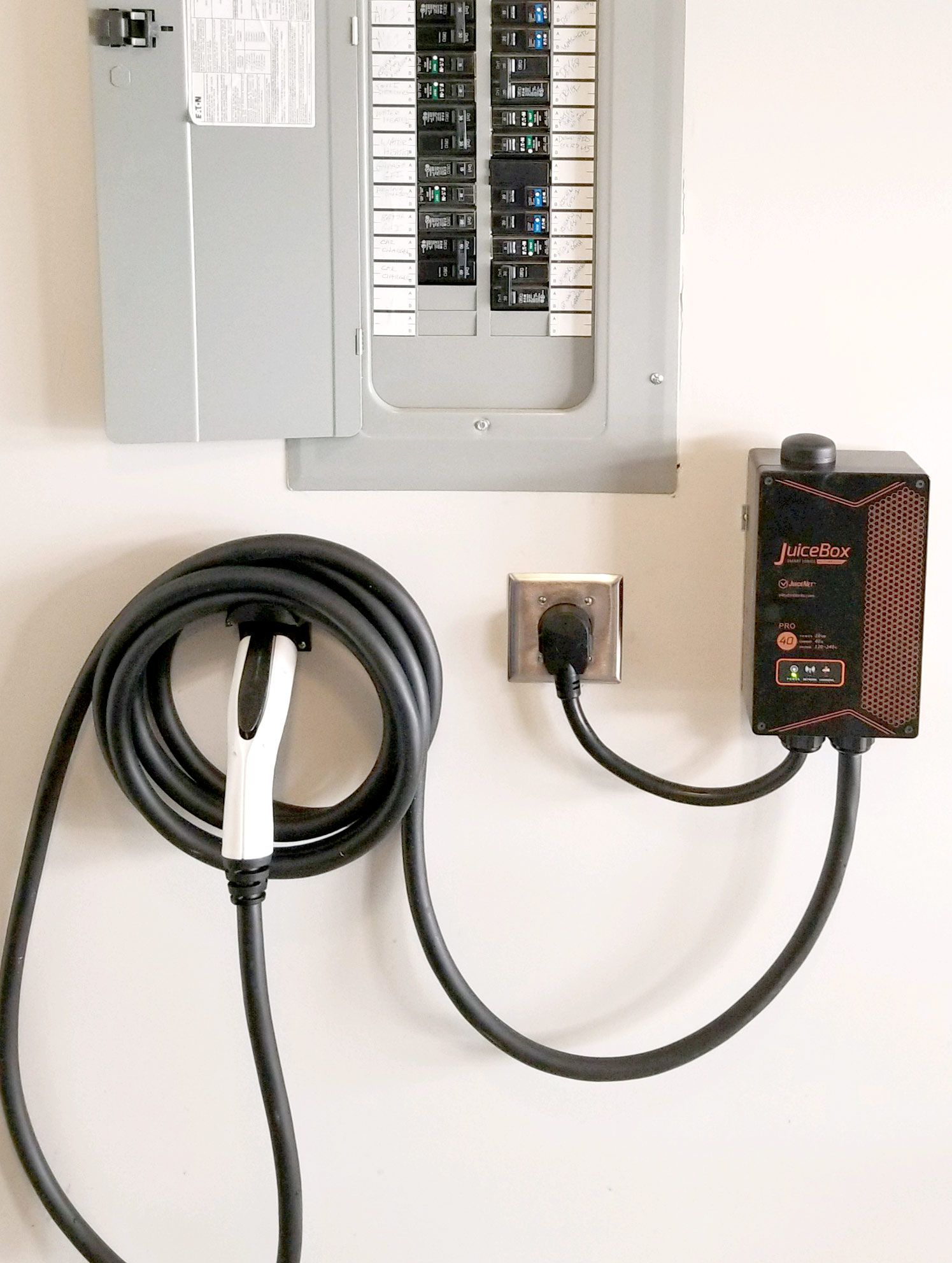 Electric Car Charger Installation » Servicewise Electrical on